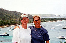 Lara and Capt Pat in the Grenadines